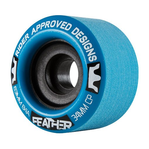 R.A.D. Longboardrollen Feathers 63mm