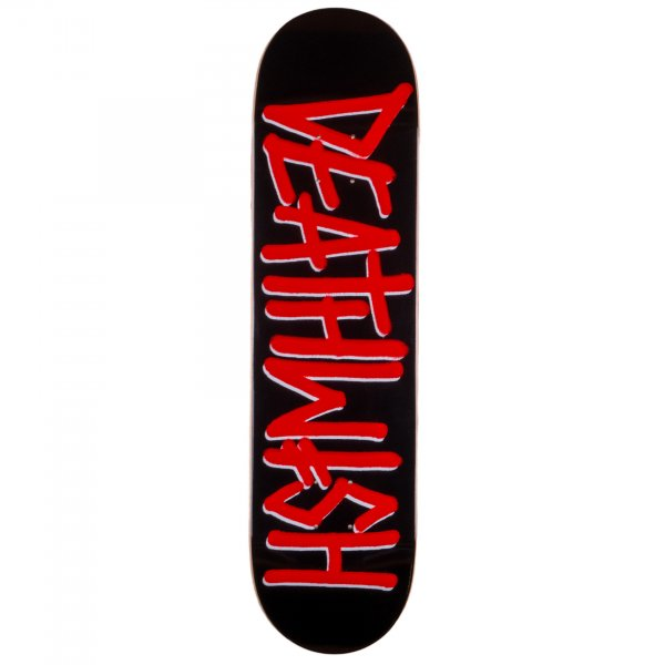 "Deathwish Skateboard Deck Deathspray 8.0"" (black red)"