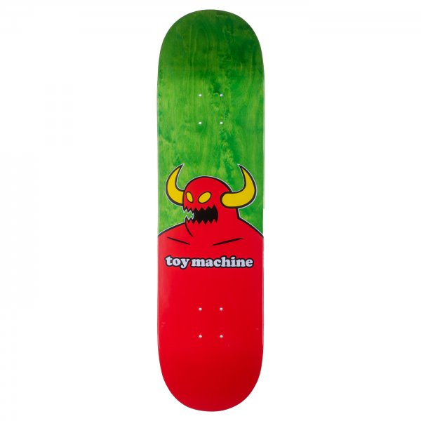 "Toy Machine Skateboard Deck Monster 8.25"" (red)"