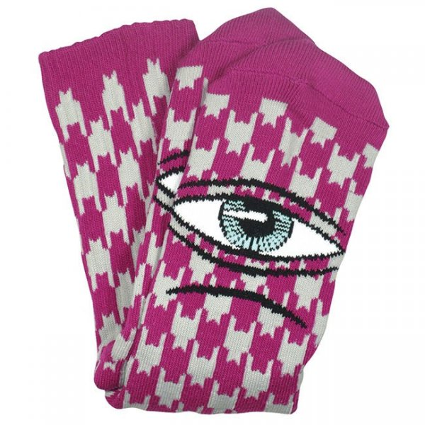 Toy Machine Socken Sect Houndstooth