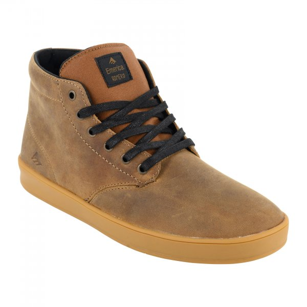 Emerica Schuhe The Romero Laced High (brown black gum)