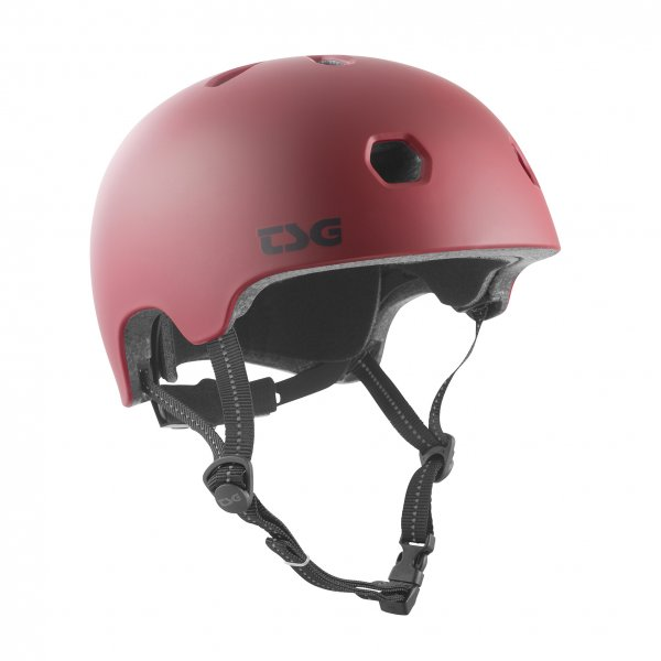 TSG Helm Meta Solid Color (oxblood)