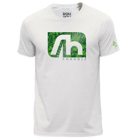 Rohholz T-Shirt Grass
