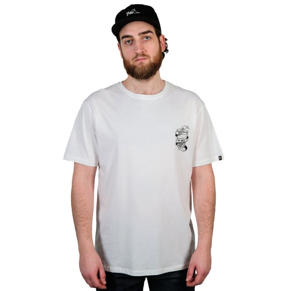 The Dudes T-Shirt Helles in Hell (off white)