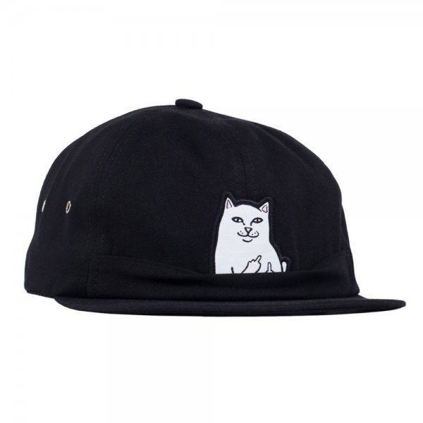 RIPNDIP Strapback Cap Lord Nermal Pocket 6 Panel Hat (black)