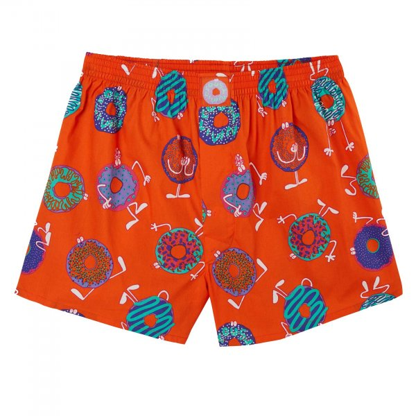 Lousy Livin Boxershorts Donut (red)