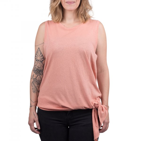 Cleptomanicx Damen Top Knotted