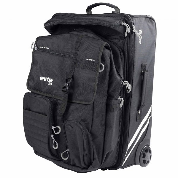 RD Elite Reisetasche Rolling Bag 2in1 (black)
