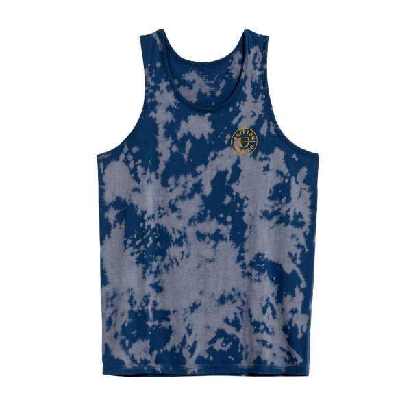 Brixton Tank Top Crest (joe blue cloud wash)