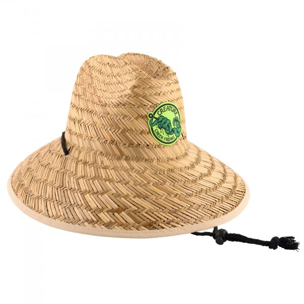 Creature Sonnenhut Creek Freaks Straw Hat (tan)