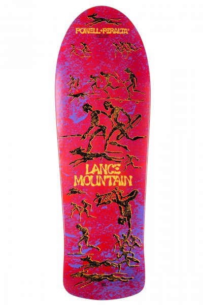 Powell Peralta Skateboard Deck Lance Mountain Limited Edition