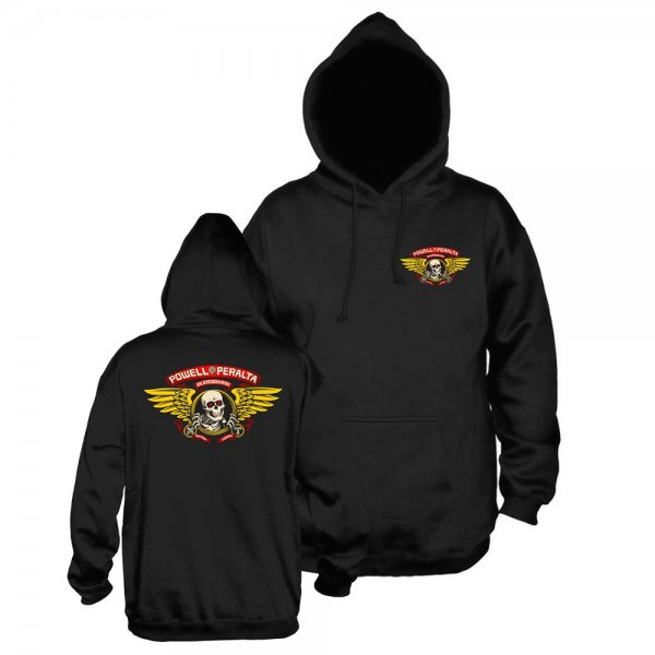 Powell Peralta Hoody Winged Ripper Mid Weight (black)