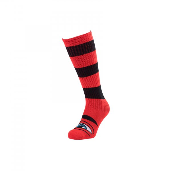 Toy Machine Kniestrümpfe Sect Eye Big Stripe (red black)