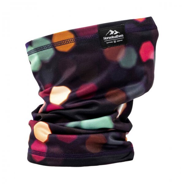 Horsefeathers Neck Warmer Printed (blur lights)