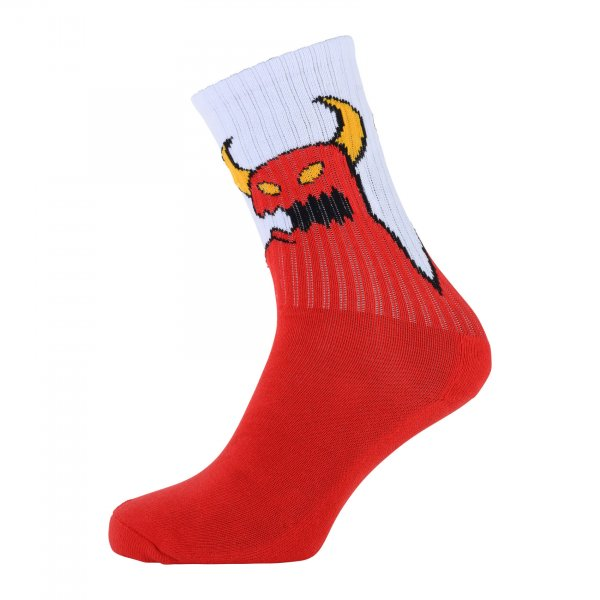 Toy Machine Socken Sketchy Monster (red)