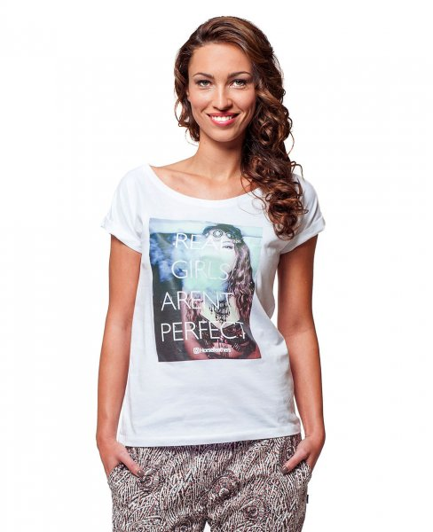 Horsefeathers Damen T-Shirt Not Perfect