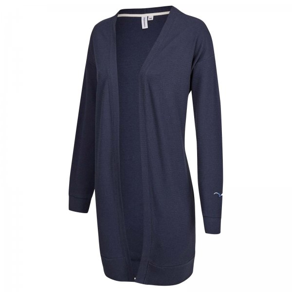 Cleptomanicx Damen Cardigan Structure (dark navy)