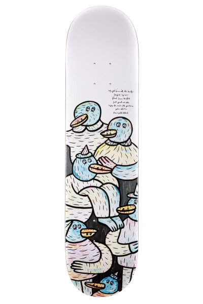 Inpeddo Skateboard Deck Lucas Beaufort Friends