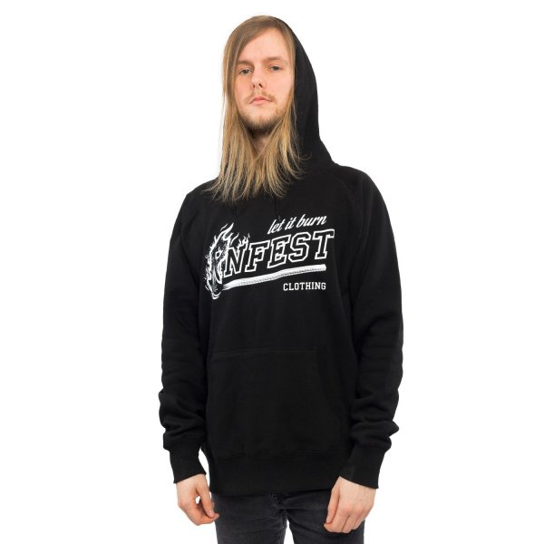 Infest Clothing Hoody Let It Burn