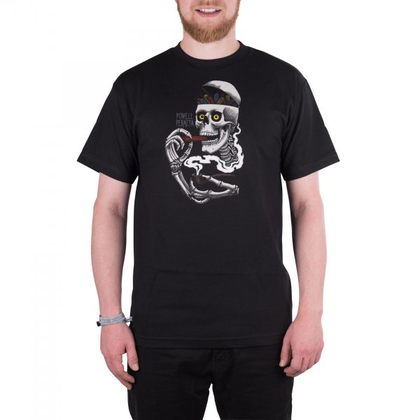 Powell Peralta T-Shirt Curb Skelly