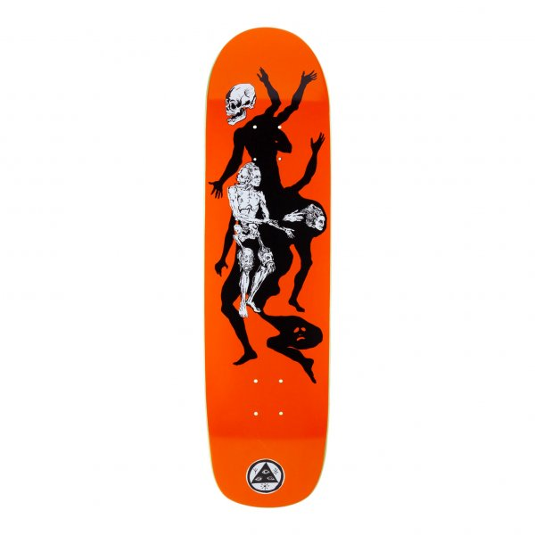 """Welcome Skateboard Deck The Magician On Son of Planchette 8.38"""" (orange)"""