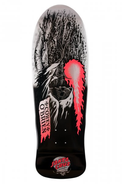 Santa Cruz Skateboard Deck O'Brien Reaper Metallic Fade Reissue