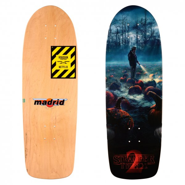 Madrid Skateboards x Stranger Things Cruiser Deck ST2 Pumkin 74,3cm