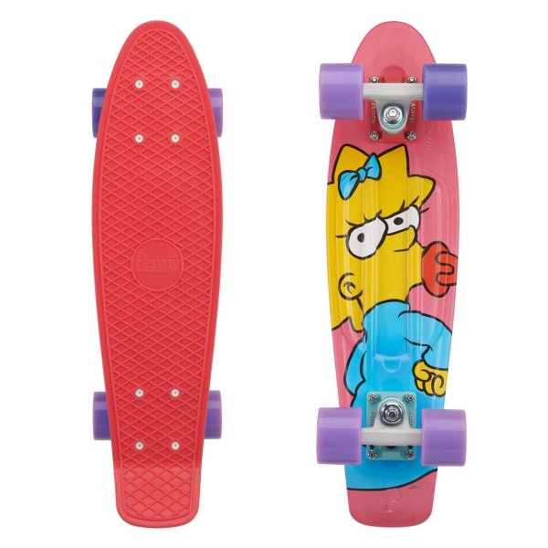 """Penny Skateboards x The Simpsons Cruiser Komplettboard Maggie 22"""""""