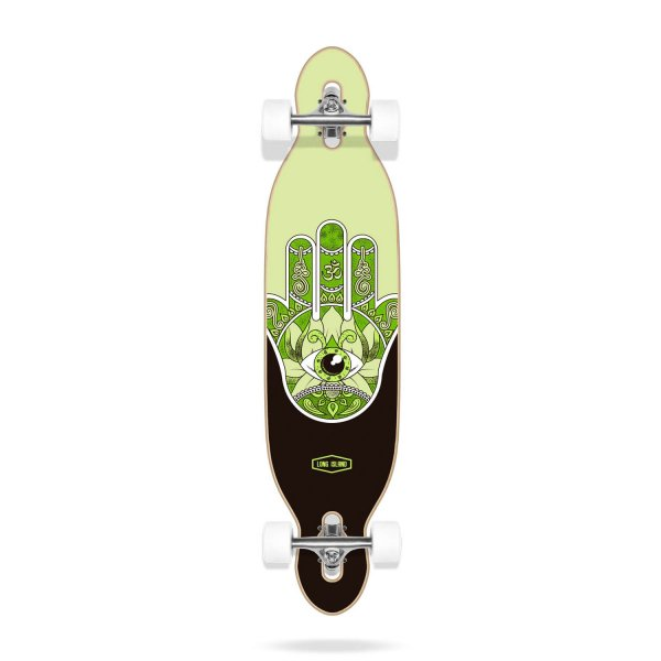 "Long Island Longboard Komplettboard Raise Essential 38.5"" Drop Through 105,8cm (green)"