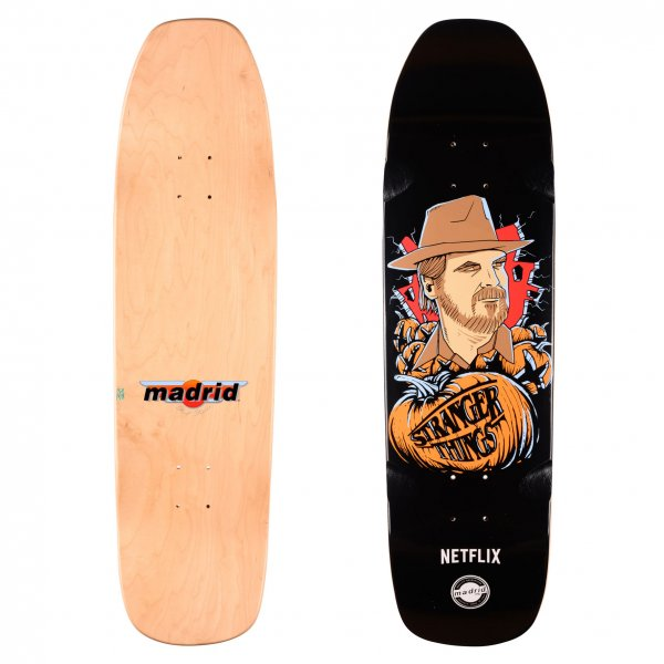 Madrid Skateboards x Stranger Things Skateboard Deck Hopper