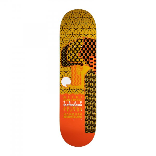"Trap Skateboard Deck Stil MVF 8.375"" (multi)"