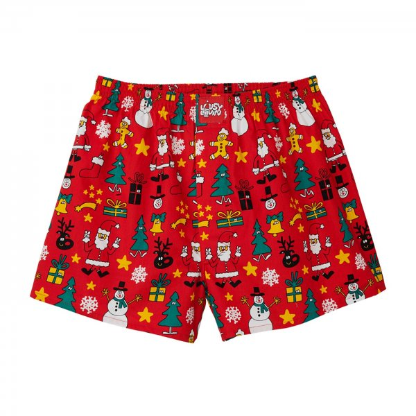 Lousy Livin Boxershorts Christmas Night (red)