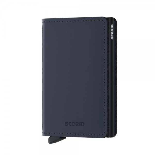 Secrid Geldbörse Slimwallet Matte (night blue)