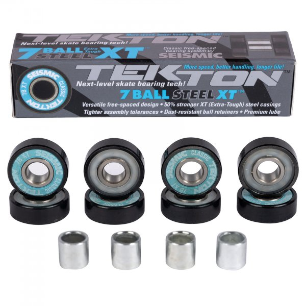 Seismic Tekton 7-Ball XT Steel Classic Bearings (blue)