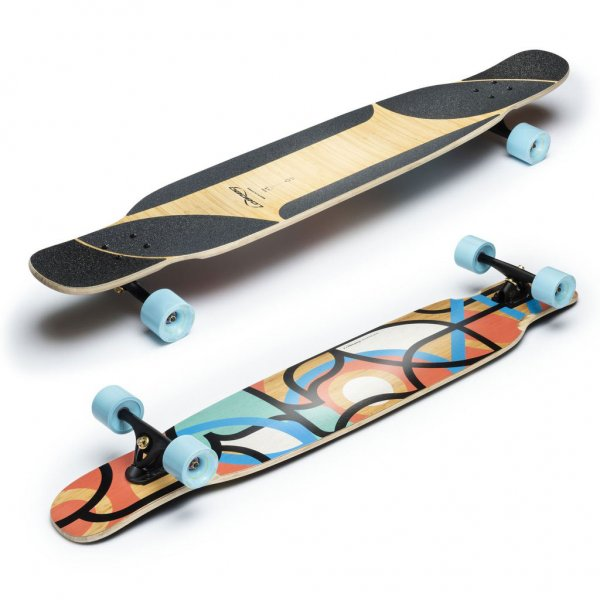 Loaded Boards Longboard Komplettboard Bhangra V2 Carving & Boardwalking Fullshape 123,2cm