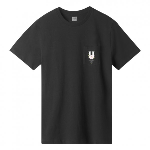 HUF T-Shirt Central Park Pocket (black)