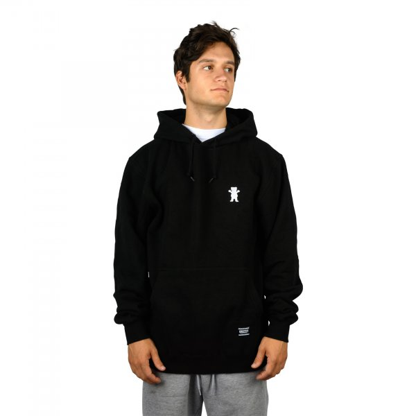 Grizzly Hoody OG Bear Embroidered (black)