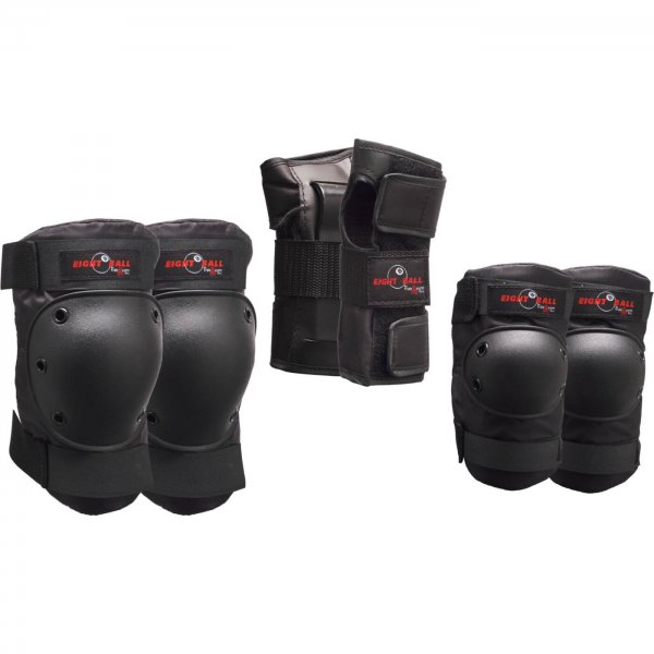 Eight Ball Protective 3-Pack (black)