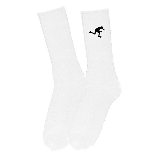 Foundation Socken Push (white)