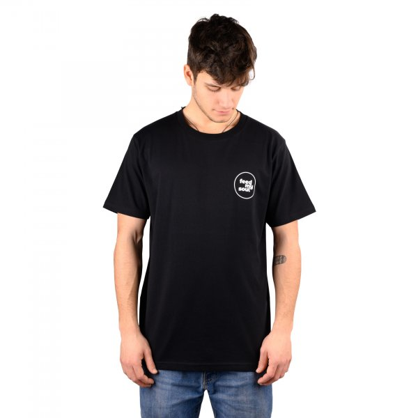 Feedmysoul T-Shirt Small Circle Logo