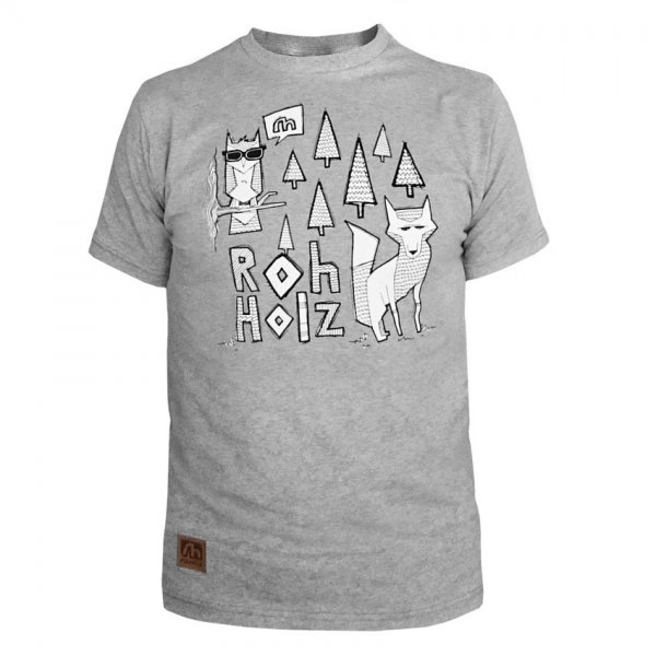 Rohholz T-Shirt Forest Animals