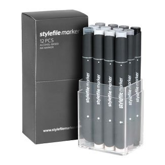 Stylefile Marker 12er Set