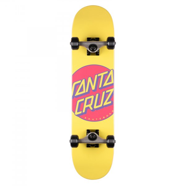 Santa Cruz Kinderskateboard Komplettboard Other Dot yellow