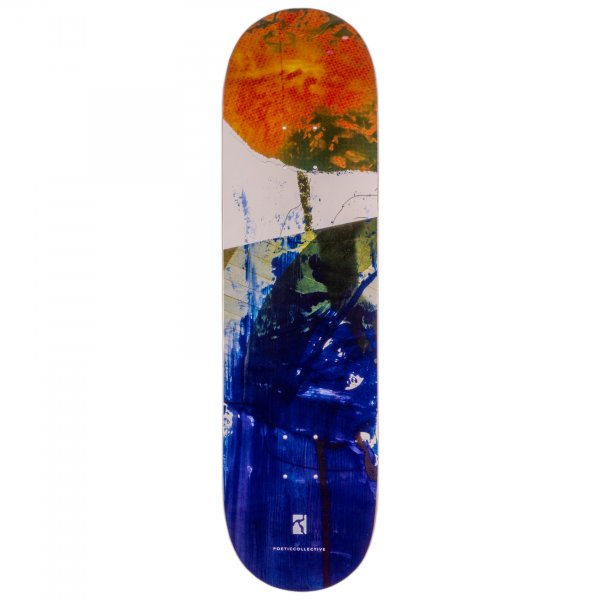 """Poetic Collective Skateboard Deck Collage #3 8.25"""""""