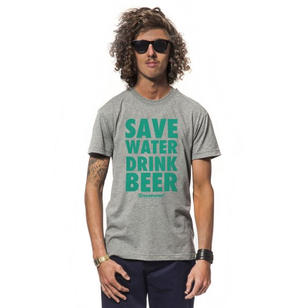 Horsefeathers T-Shirt Drink Beer