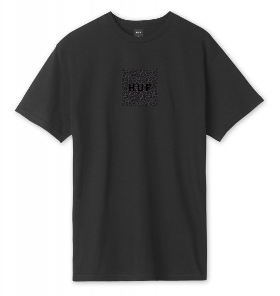 HUF T-Shirt Quake Box Logo (black)