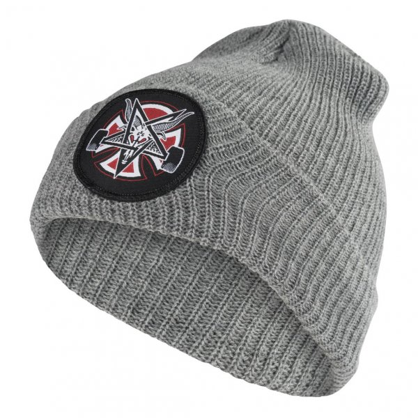 Independent x Thrasher Beanie Pentagram Cross Longshoreman