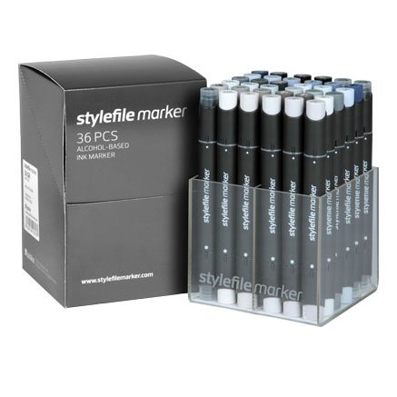 Stylefile Marker 36er Set