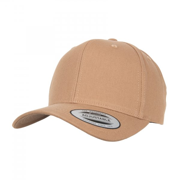 Flexfit 6-Panel Curved Metal Snap Cap (croissant)